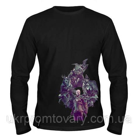 Лонгслив мужской - Ведьмак, отличный подарок купить со скидкой, недорого, фото 2