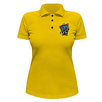 Женская футболка Поло - Без посадки, отличный подарок купить со скидкой, недорого