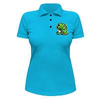Женская футболка Поло - Свиньи Angry Birds, отличный подарок купить со скидкой, недорого