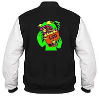 Куртка - бомбер - Лягушка ЛСД, отличный подарок купить со скидкой, недорого