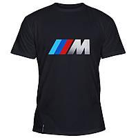 Мужская футболка - BMW M Power, отличный подарок купить со скидкой, недорого