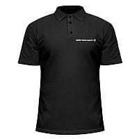 Мужская футболка Поло - bmw motorsport, отличный подарок купить со скидкой, недорого