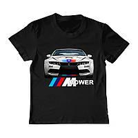 Футболка детская - BMW M Power, отличный подарок купить со скидкой, недорого