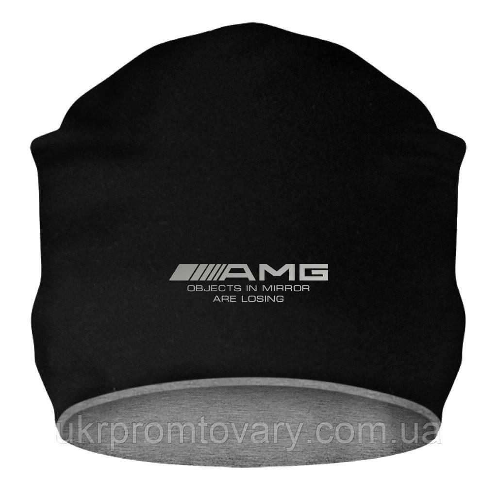 Шапка - AMG Logo, отличный подарок купить со скидкой, недорого