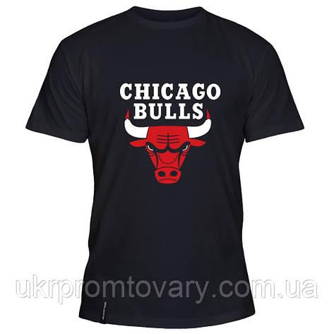 Мужская футболка - Chicago Bulls, отличный подарок купить со скидкой, недорого, фото 2