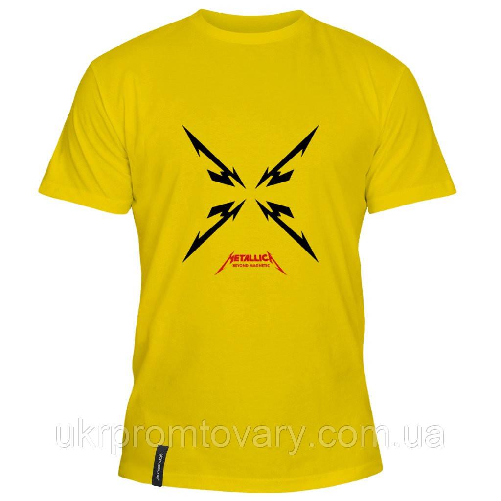 Мужская футболка - Metallica, отличный подарок купить со скидкой, недорого