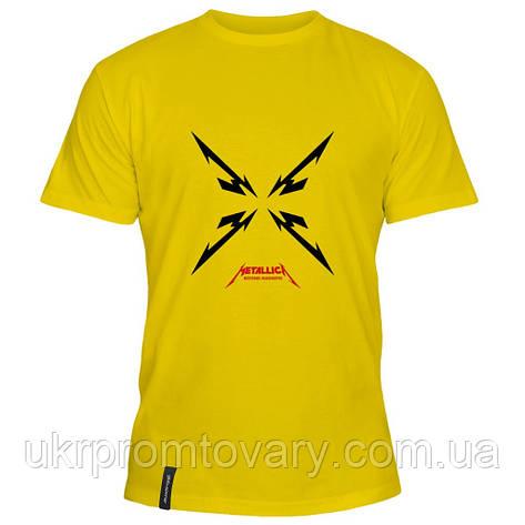 Мужская футболка - Metallica, отличный подарок купить со скидкой, недорого, фото 2