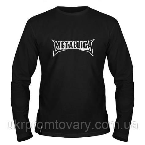 Лонгслив мужской - Metallica, отличный подарок купить со скидкой, недорого, фото 2