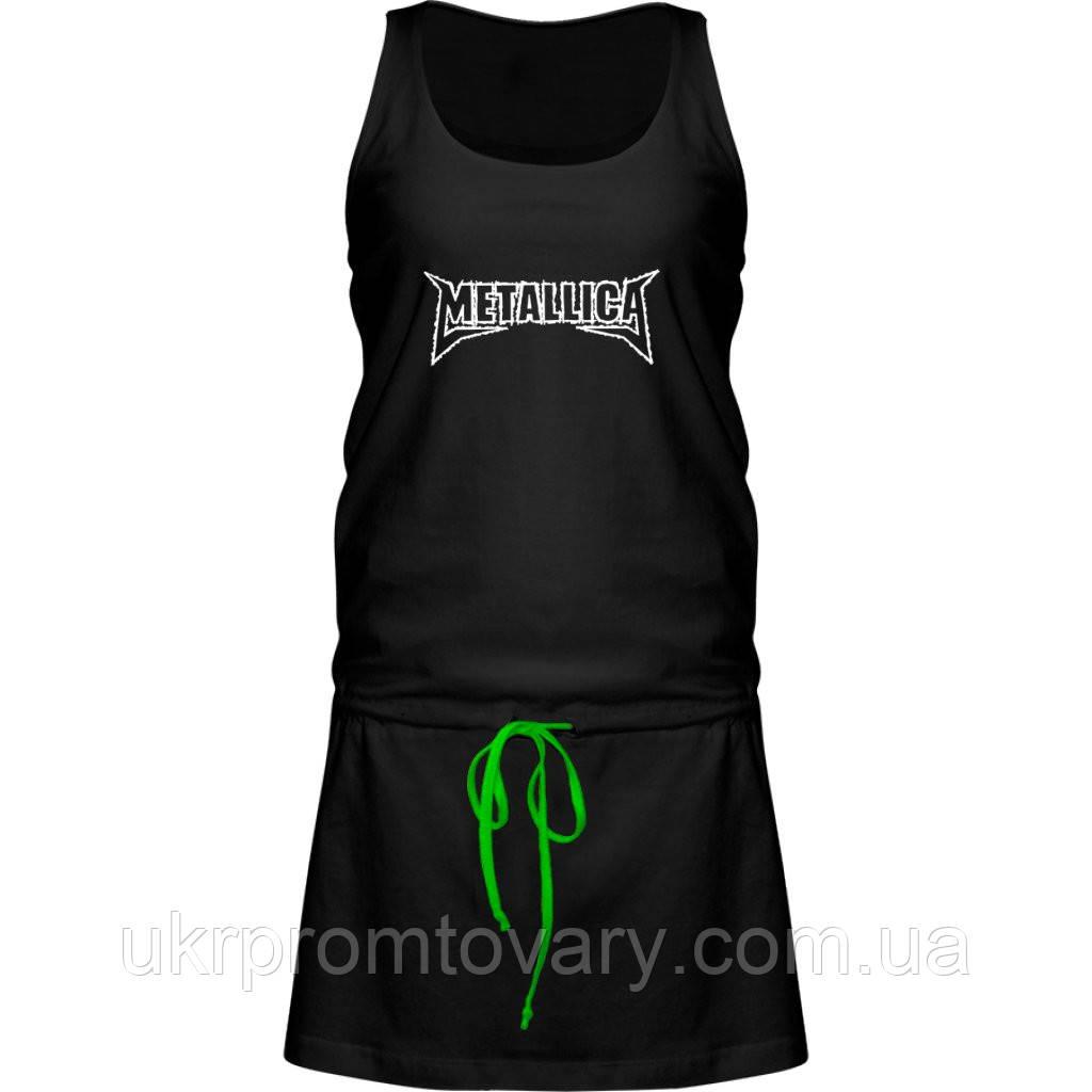 Платье - Metallica, отличный подарок купить со скидкой, недорого