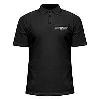 Мужская футболка Поло - Rammstein 2, отличный подарок купить со скидкой, недорого