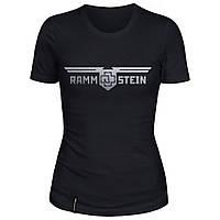 Женская футболка - Rammstein 2, отличный подарок купить со скидкой, недорого