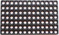 Коврик резиновый соты 22MM  45x75. арт.4049