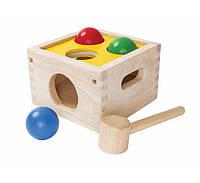 """Деревянная игрушка """"Забивалка бей и бросай"""", PlanToys"""