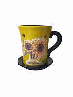 Аромалампа Чашка желтая (Аромалампы и ночники)