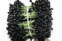 Цветочная тычинка 0,5см на проволоке черная 480шт