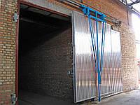 Ворота для сушильных камер (загрузочные двери)