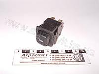Выключатель кнопочный повортной оси прицепа (24V), 3842.3710-02.27