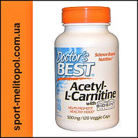 Doctor's BEST Acetyl-L-Carnitine 120 caps