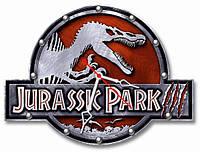 Часы настенные фигурные 30*40 см - Парк Юрского периода 3D фотопечать
