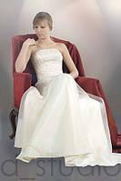 Свадебное платье собственного производства