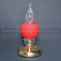 Светильник настольный декоративный ночник IMPERIA одноламповый с сенсорным включением LUX-134352