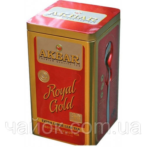 Чай Акbаr Royal Cold 250 гр.жестяная банка
