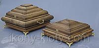Ковчеги ручной работы деревянные для частиц Святых мощей., фото 4