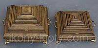 Ковчеги ручной работы деревянные для частиц Святых мощей., фото 2