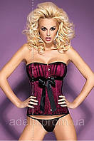 Эротическое нижнее женское белье,  корсет, Obsessive, Rubines corset