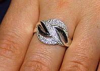 Кольцо серебро 925 проба 16 размер АРТ553, фото 1