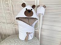 """Набор для новорожденного """"Белый мишка"""""""