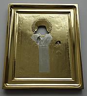 Золочение сусальным золотом старинного оклада и рамы.