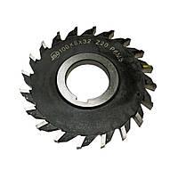 Фреза дисковая 3-х сторонняя Ф 63х8х22 Р6М5 с р/н зубьями
