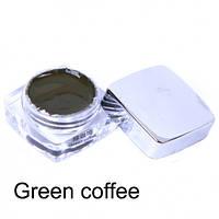 Паста пигмент Goochie для бровей Green Coffee (ручная техника)