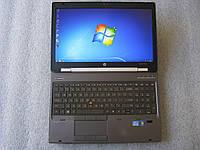 15,6' Игровой ноутбук HP EliteBook WorkStation 8560w i7 2.7G 8G 500G nVidia(2G) АКБ 2ч30мин #345