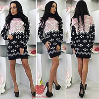 Мультивещь свитер-туника-платье ЯС1