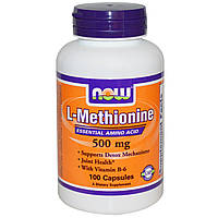 L-метионин, L-Methionine 500 mg (100 caps)