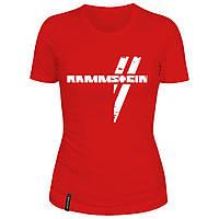 Женская футболка - Rammstein, отличный подарок купить со скидкой, недорого