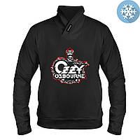 Толстовка утепленная - Ozzy Osbourne, отличный подарок купить со скидкой, недорого