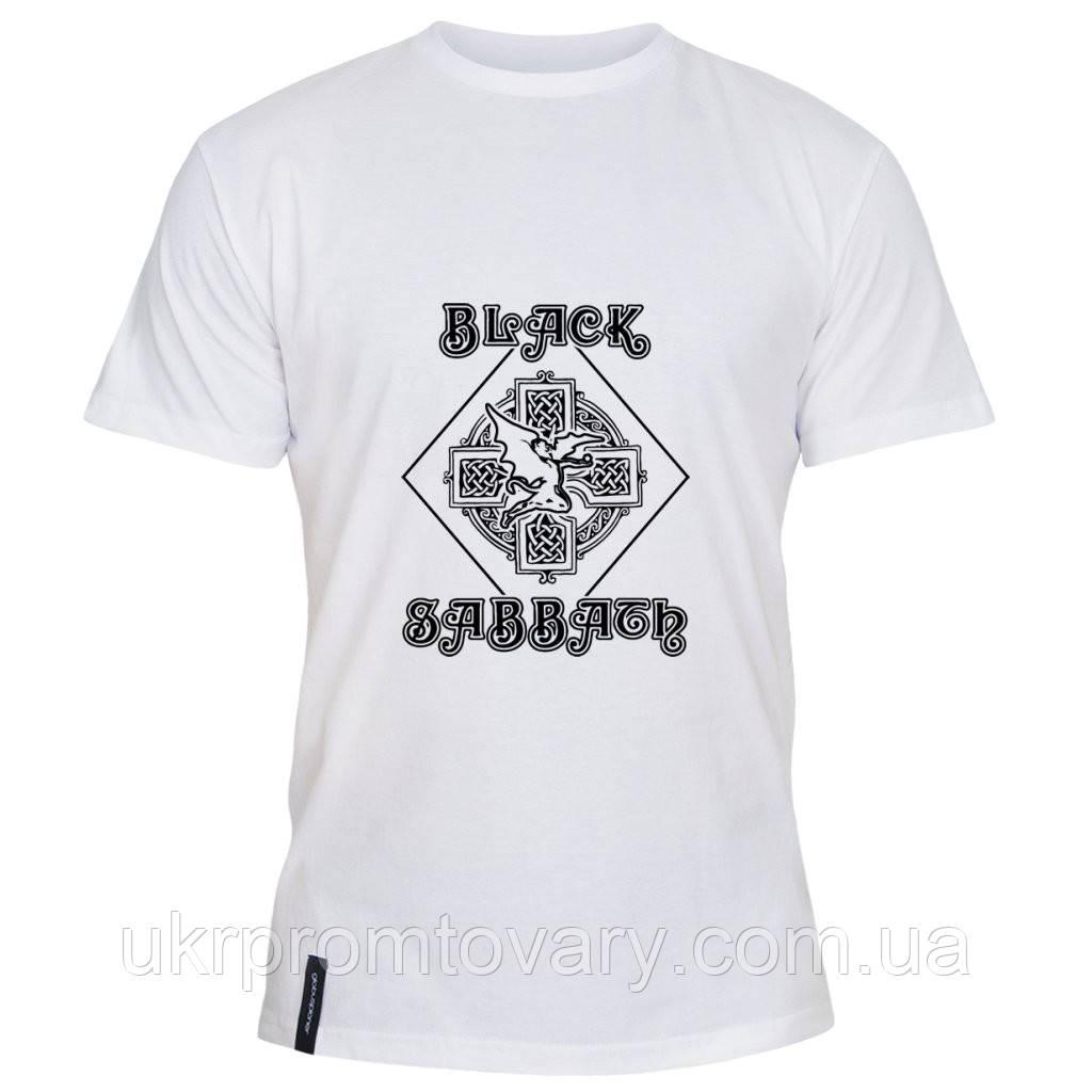 Мужская футболка - Black, отличный подарок купить со скидкой, недорого
