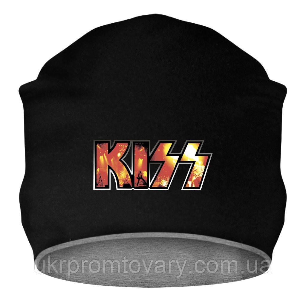 Шапка - Kiss, отличный подарок купить со скидкой, недорого