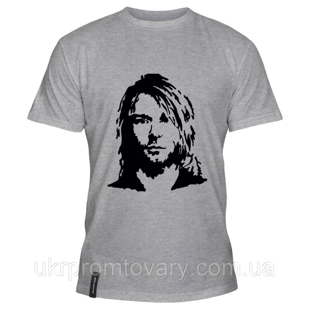 Мужская футболка - Kurt, отличный подарок купить со скидкой, недорого