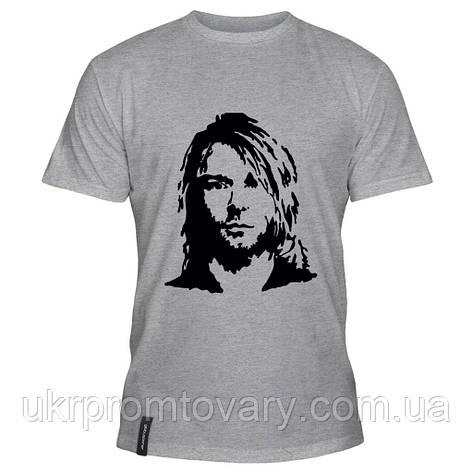 Мужская футболка - Kurt, отличный подарок купить со скидкой, недорого, фото 2