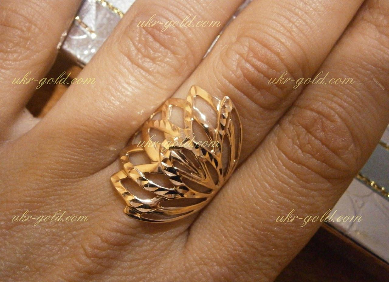 Кольцо золотое без камней