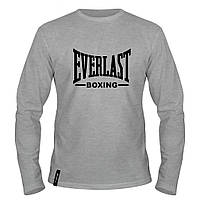 Лонгслив мужской - Everlast Boxing, отличный подарок купить со скидкой, недорого