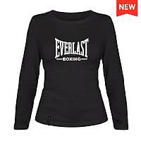 Лонгслив женский - Everlast Boxing, отличный подарок купить со скидкой, недорого