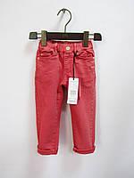 Цветные штаны джинсы коттоны на девочку