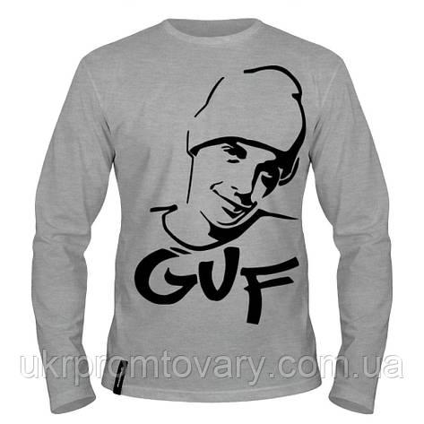 Лонгслив мужской - GUF, отличный подарок купить со скидкой, недорого, фото 2