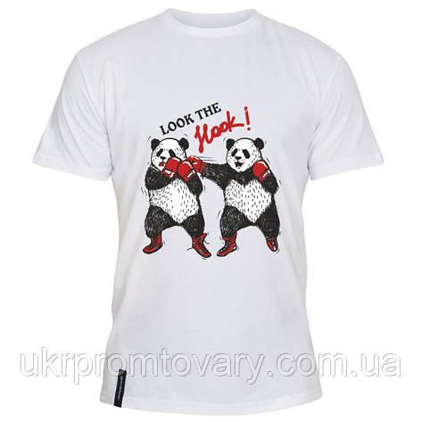 Мужская футболка - Панда Хук, отличный подарок купить со скидкой, недорого, фото 2