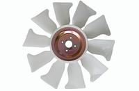 Вентилятор крыльчатка двигателя K15, K21, K25 на погрузчик NISSAN, MITSUBISHI